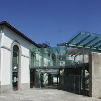 la galerie d'accès à l'étage